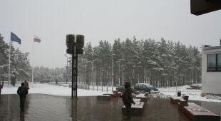 Śnieg w Talinie - Kontakt Meteo/ Mia Maracine