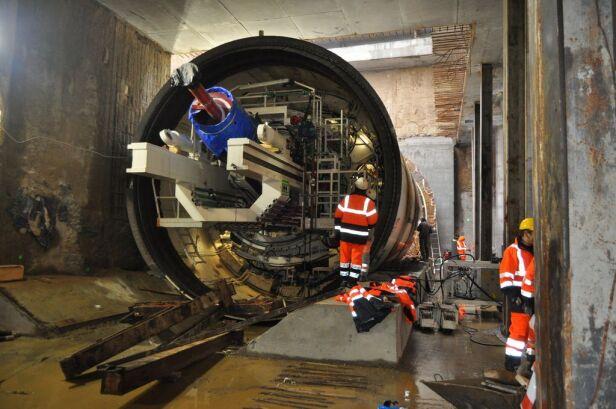 Budowa metra w stolicy metro.waw.pl