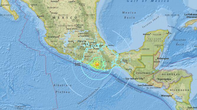 Trzęsienie ziemi o magnitudzie 7.2