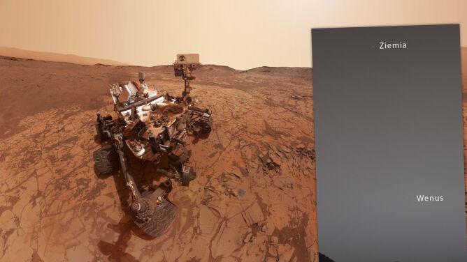 Łazik Curiosity zrobił nam zdjęcie
