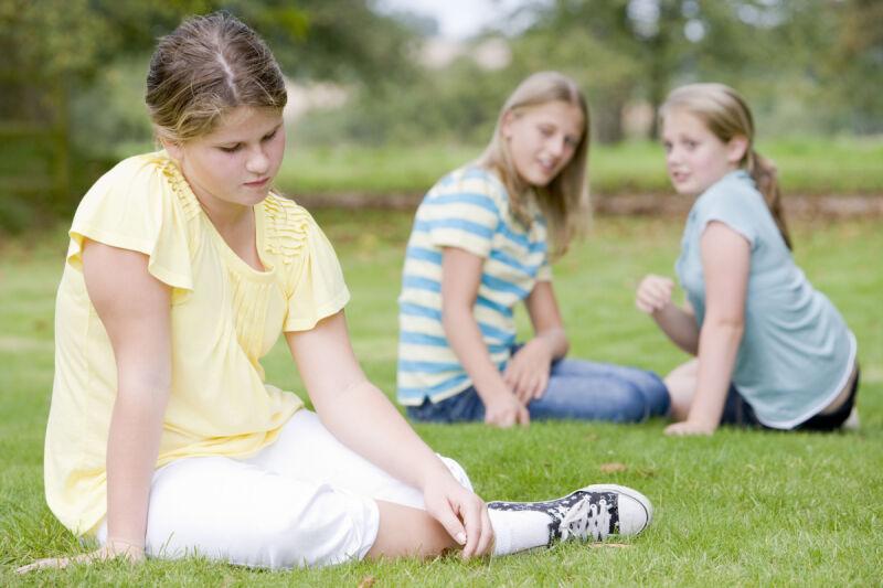 Otyłe dzieci zamgają się z brakiem akceptacji i izolacją