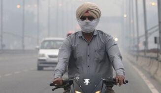 Miasto spowite smogiem. Ogromny problem w Nowym Delhi