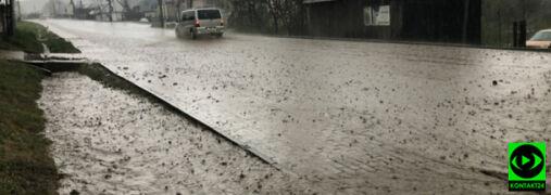 Deszcz zalewał piwnice. Interwencje po środowych opadach
