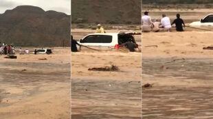 Nagle przyszła powódź. Setki ludzi uwięzionych na szczycie góry