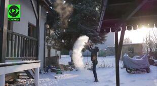 Chmura lodowa w Nakle Śląskim